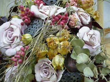 Ostatní aranžmá ze sušených květin
